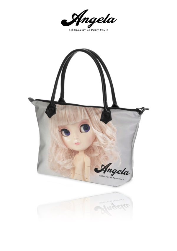 ANGELA DOLLY HANDBAG ZIP TOP / BABY BAG pink