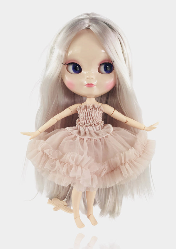 ANGELA Doll ICY doll BALLET PINK incl. Dolly Fashion & Doll Carrier bag-dolls-DOLLY by Le Petit Tom ®
