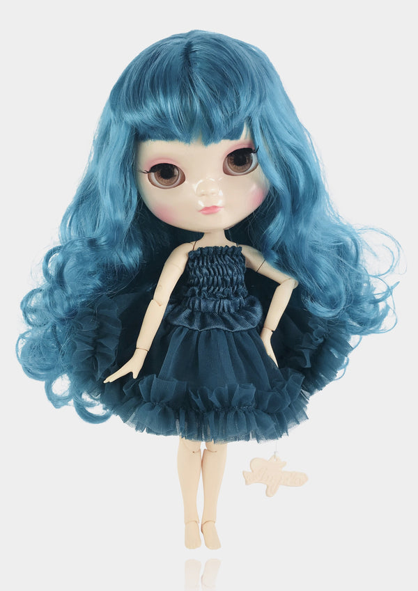 ANGELA Doll EMERALD incl. Dolly Fashion & Doll Carrier bag-dolls-DOLLY by Le Petit Tom ®