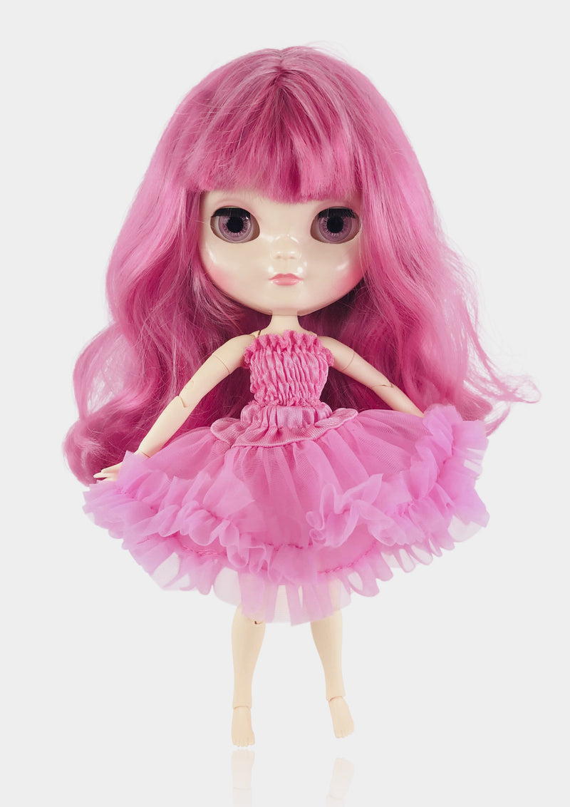 ANGELA Doll ICY doll PINKEST PINK incl. Dolly Fashion & Doll Carrier bag-dolls-DOLLY by Le Petit Tom ®