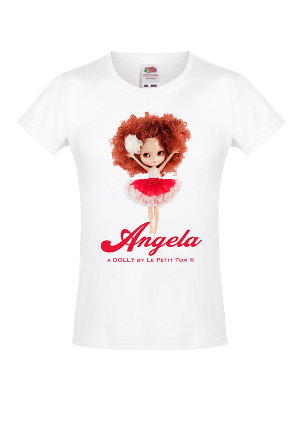 ANGELA DOLLY by Le Petit Tom ® T-shirt Angela doll Annie