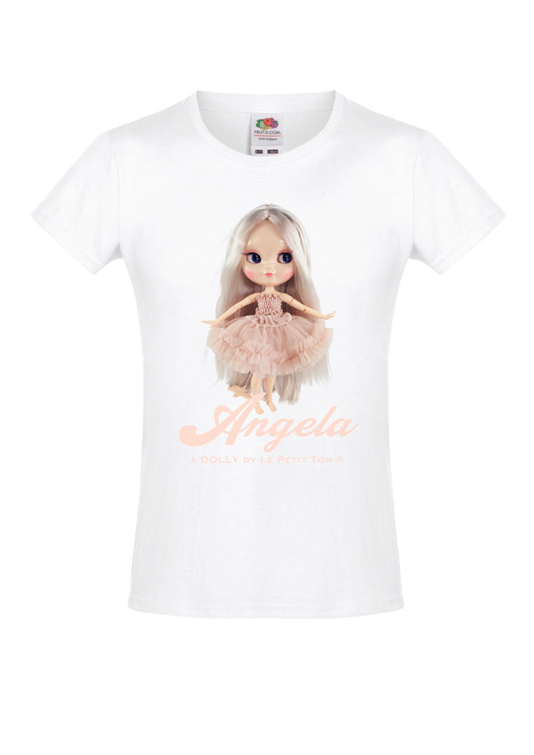 [ OUTLET] ANGELA DOLLY by Le Petit Tom ® T-shirt Angela doll ballet pink