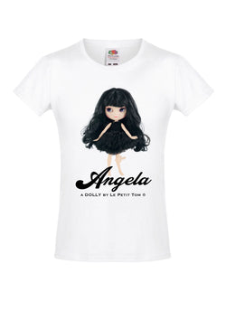 [ OUTLET] ANGELA DOLLY by Le Petit Tom ® T-shirt Angela doll black