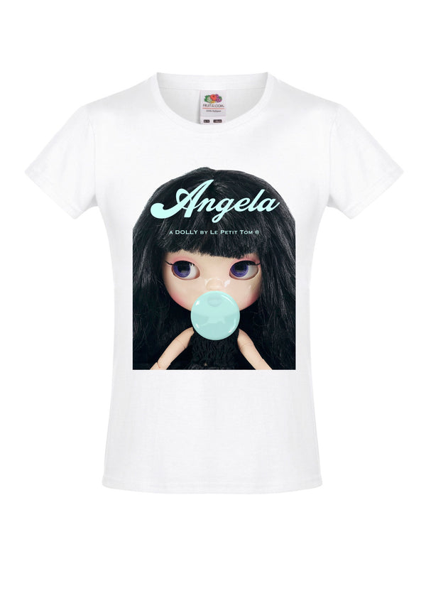 [ OUTLET] ANGELA DOLLY by Le Petit Tom ® T-shirt Angela doll Black Bubblegum