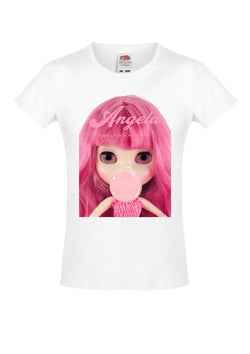 ANGELA DOLLY by Le Petit Tom ® T-shirt Angela doll Pink Bubblegum