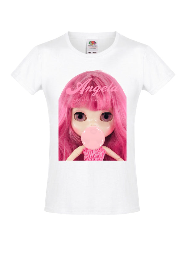 [ OUTLET] ANGELA DOLLY by Le Petit Tom ® T-shirt Angela doll Pink Bubblegum