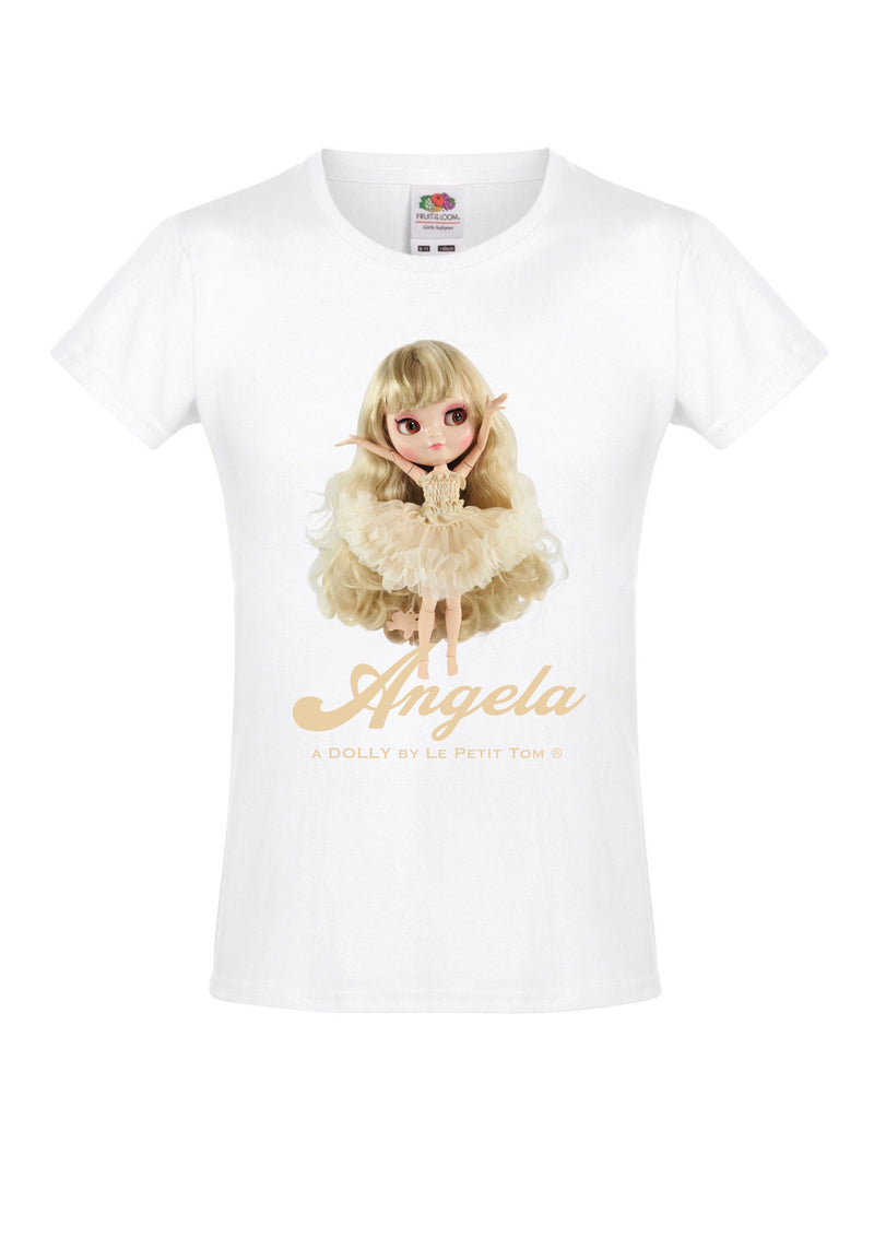 ANGELA DOLLY by Le Petit Tom ® T-shirt Angela doll cream