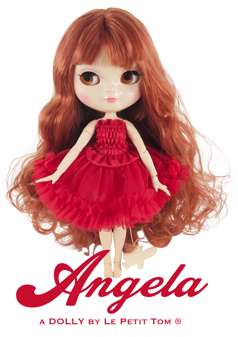 ANGELA Doll clothing DOLLY PETTISKIRT FASHION SET - many colors-dolls-DOLLY by Le Petit Tom ®