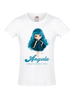 [OUTLET!] ANGELA DOLLY by Le Petit Tom ® T-shirt Angela doll emerald
