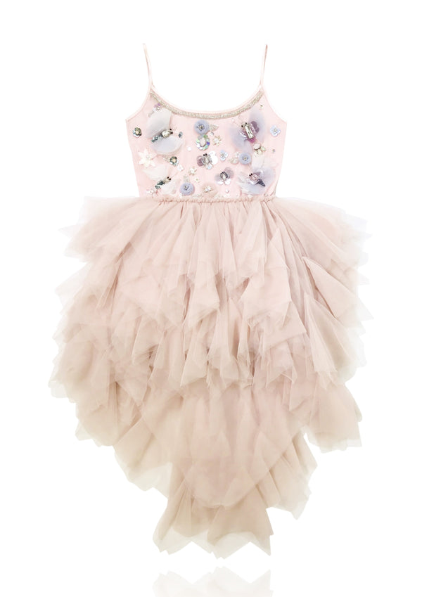 DOLLY by Le Petit Tom ® THE BUTTERFLY ANGEL tutu dress pink - DOLLY by Le Petit Tom ®