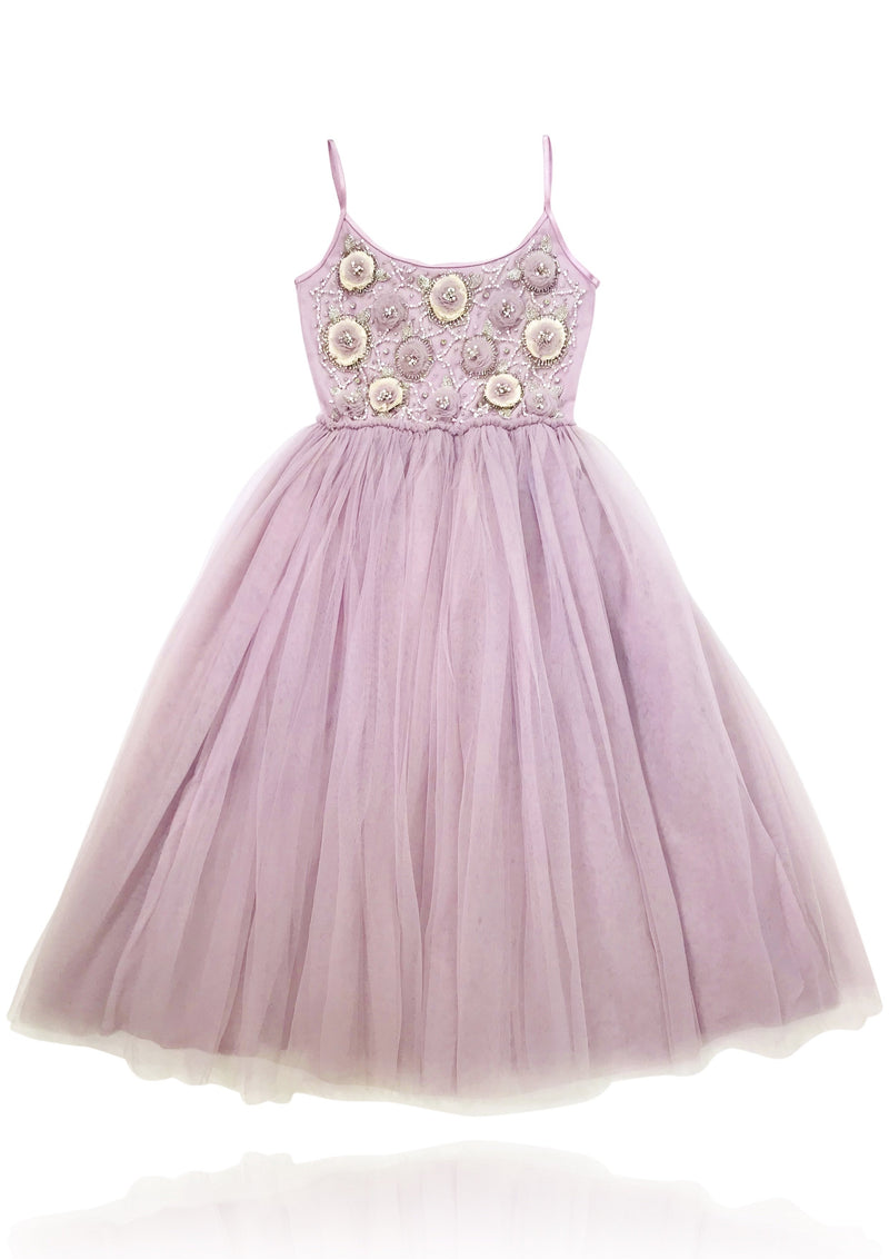 DOLLY by Le Petit Tom ® FLOWER ANGEL tutu dress violet - DOLLY by Le Petit Tom ®