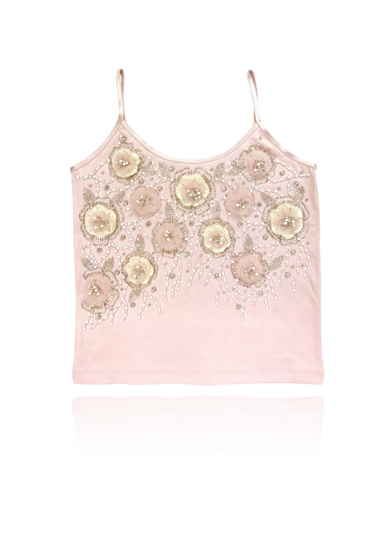 DOLLY by Le Petit Tom ® FLOWER ANGEL top ballet pink - DOLLY by Le Petit Tom ®