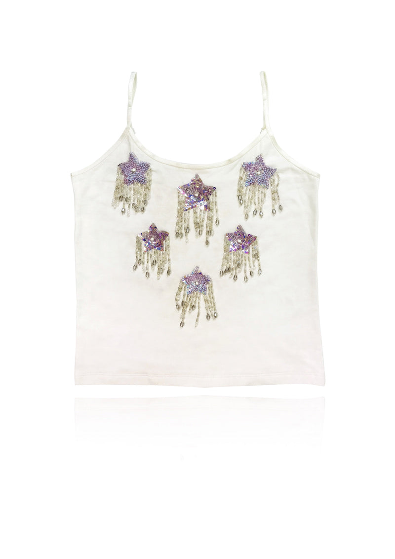 DOLLY by Le Petit Tom ® ANGELS star top off-white - DOLLY by Le Petit Tom ®