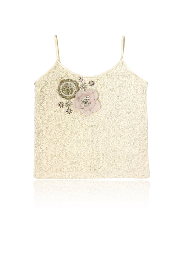DOLLY by Le Petit Tom ® BOHO flower top - DOLLY by Le Petit Tom ®