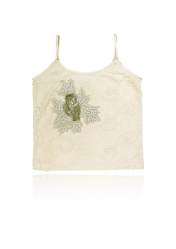 DOLLY by Le Petit Tom ® BOHO pearl top - DOLLY by Le Petit Tom ®