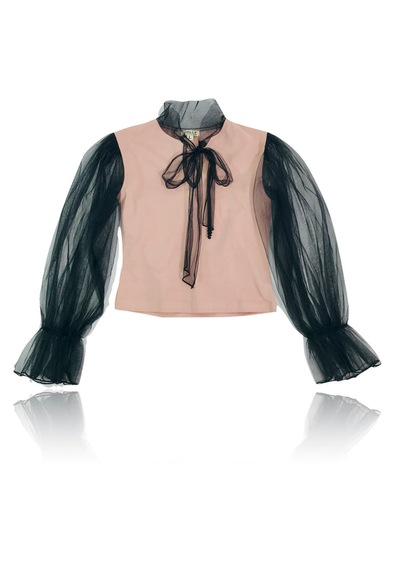 [OUTLET] DOLLY by Le Petit Tom ® BIG BOW top