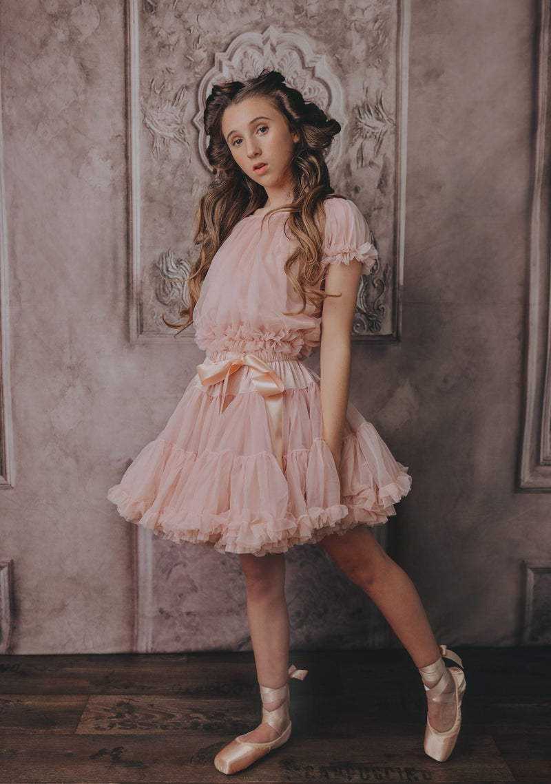 DOLLY by Le Petit Tom ® DOROTHY in the land of DOLLS pettiskirt ballet pink