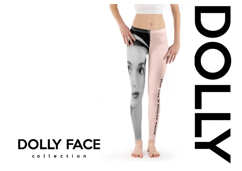 [OUTLET]  DOLLY FACE LEGGINGS ballet pink