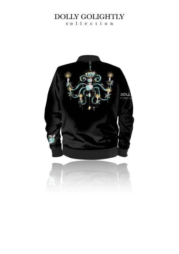 DOLLY GOLIGHTLY BOMBER JACKET luxury black