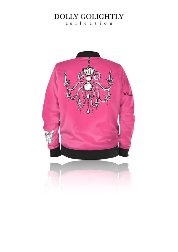 DOLLY GOLIGHTLY BOMBER JACKET Golightly pink