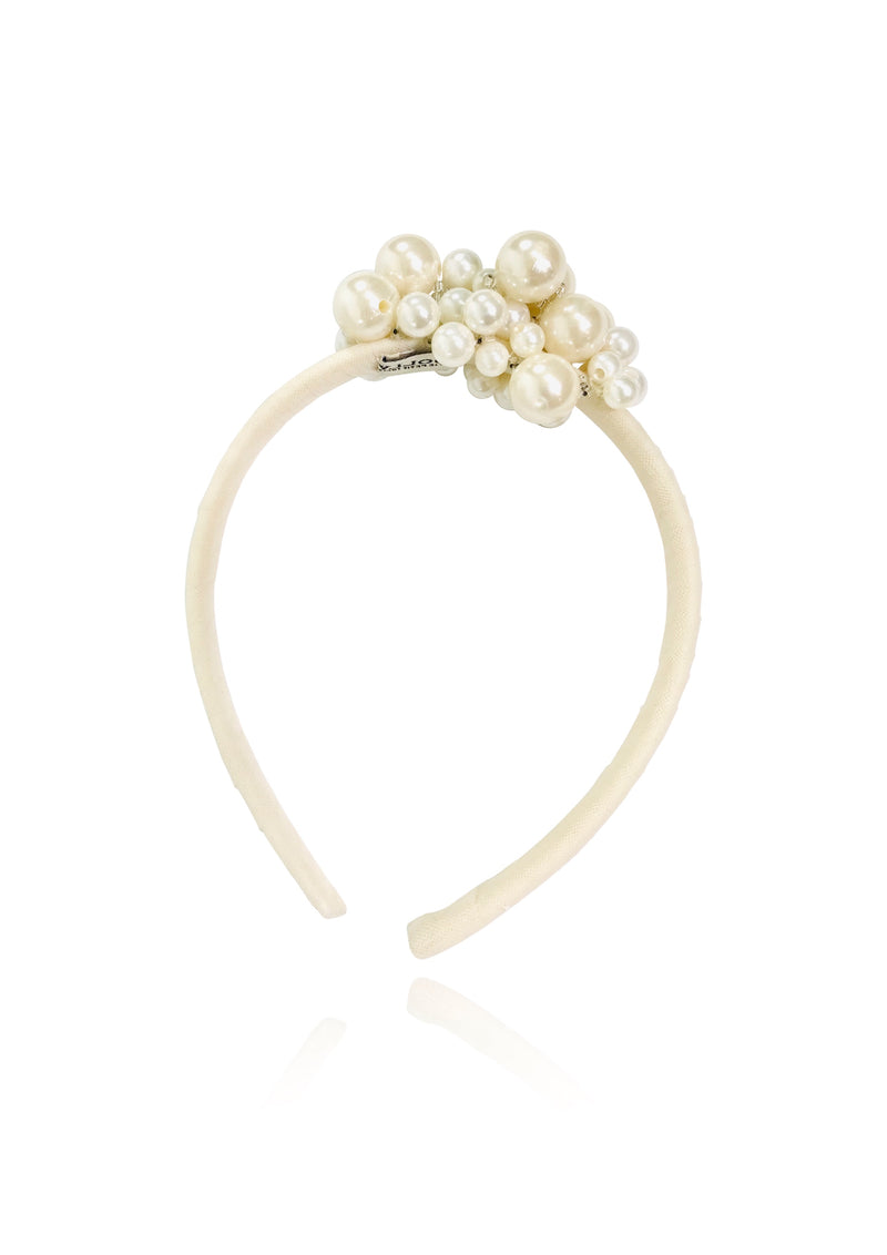 DOLLY GOLIGHTLY Breakfast @ Tiffany's PEARL HEADBAND