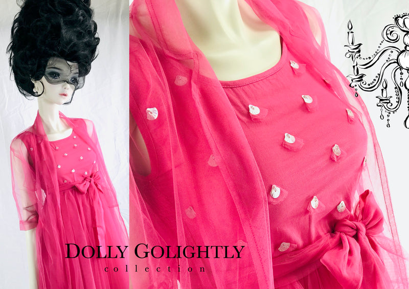 [EXPECTED NOV.] DOLLY GOLIGHTLY Breakfast @ Tiffany's PINK TUTU DRESS SET pink