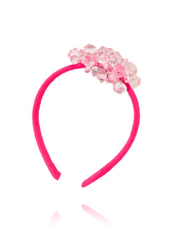 DOLLY GOLIGHTLY Breakfast @ Tiffany's PINK HEADBAND