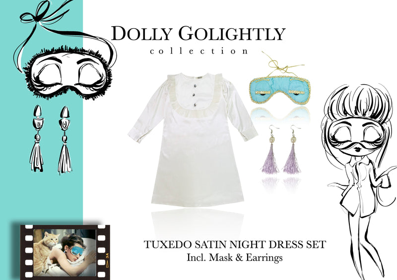 [ OUTLET] DOLLY GOLIGHTLY Breakfast @ Tiffany's ginger 'CAT' plush toy collectible