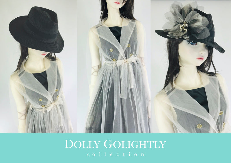 [EXPECTED NOV.] DOLLY GOLIGHTLY Breakfast @ Tiffany's TULLE TRENCHCOAT I ♥coffee