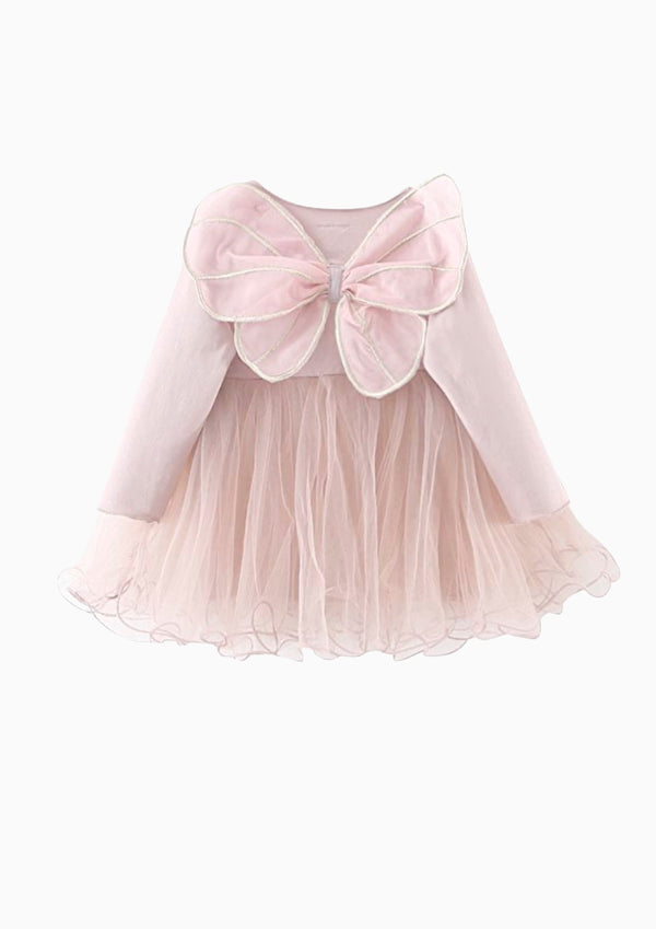 DOLLY by Le Petit Tom ® BUTTERFLY WINGS TUTU DRESS pink