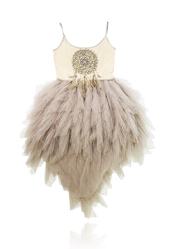 DOLLY by Le Petit Tom ® BOHO dreamcatcher tutu dress smokey mauve - DOLLY by Le Petit Tom ®