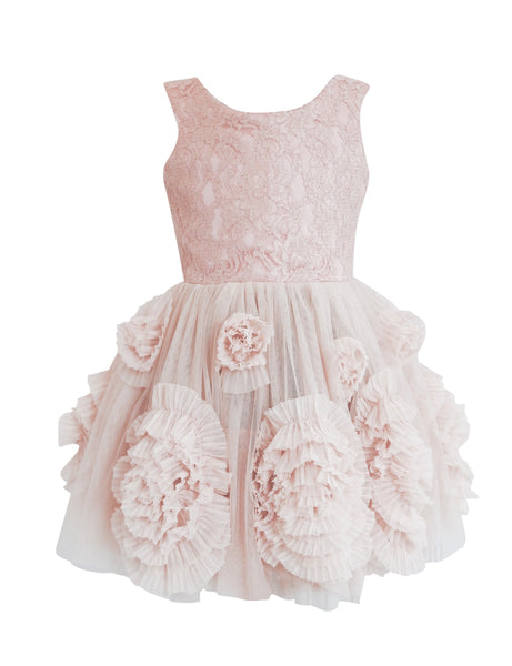 DOLLY by Le Petit Tom ® REBELLIOUS DRESS ballet pink - DOLLY by Le Petit Tom ®