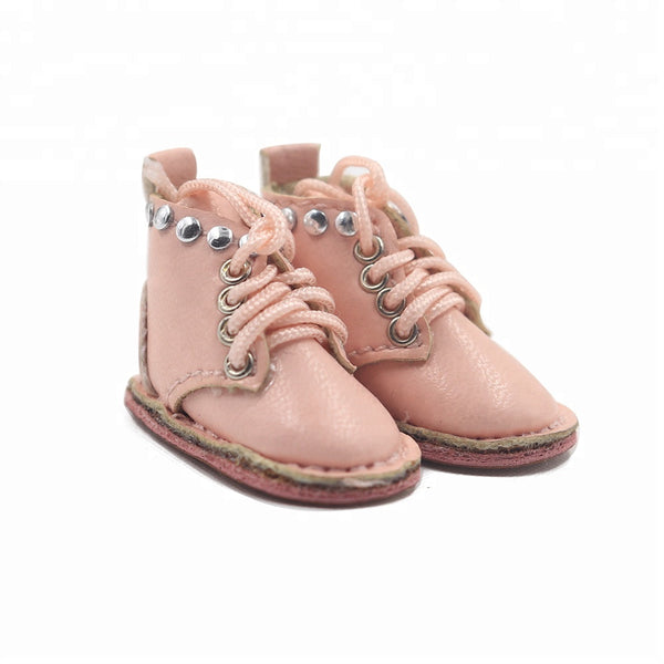 [ OUTLET] ANGELA Doll STUDDED BOOTS pink