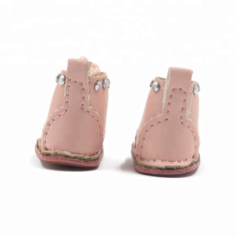 ANGELA Doll STUDDED BOOTS pink