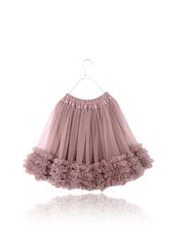 DOLLY by Le Petit Tom ® FRILLY SKIRT mauve - DOLLY by Le Petit Tom ®