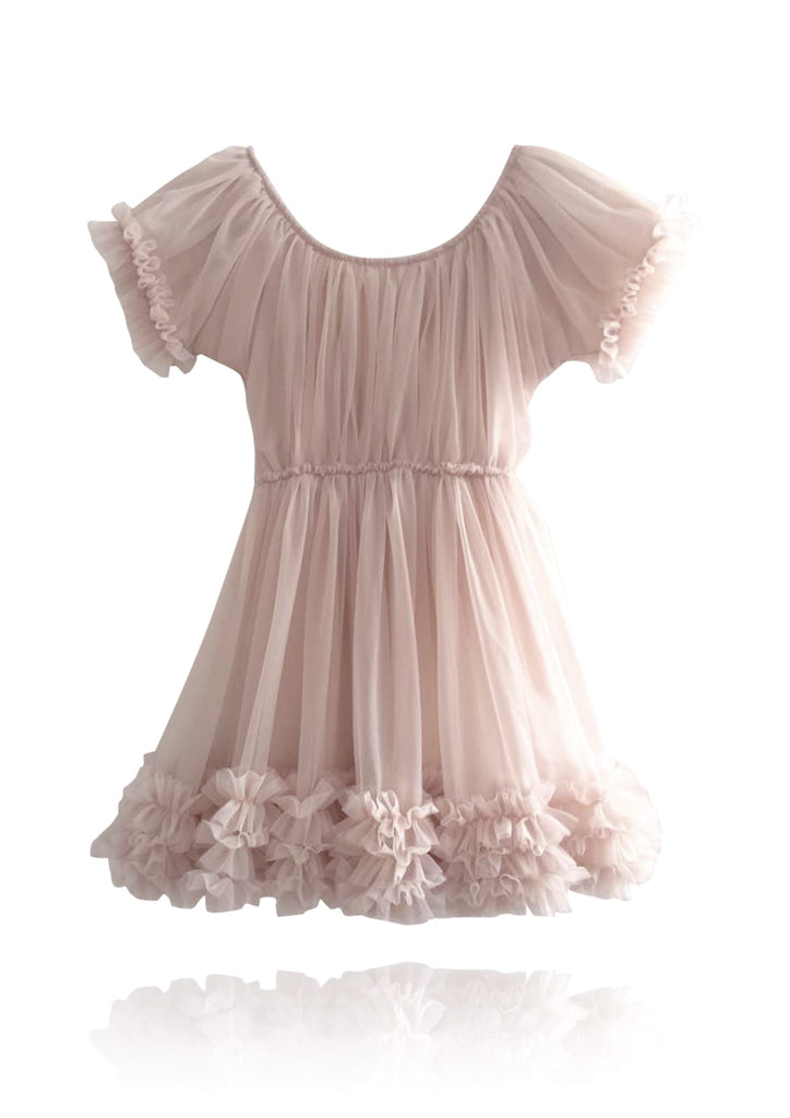 Pink Frilly Dress