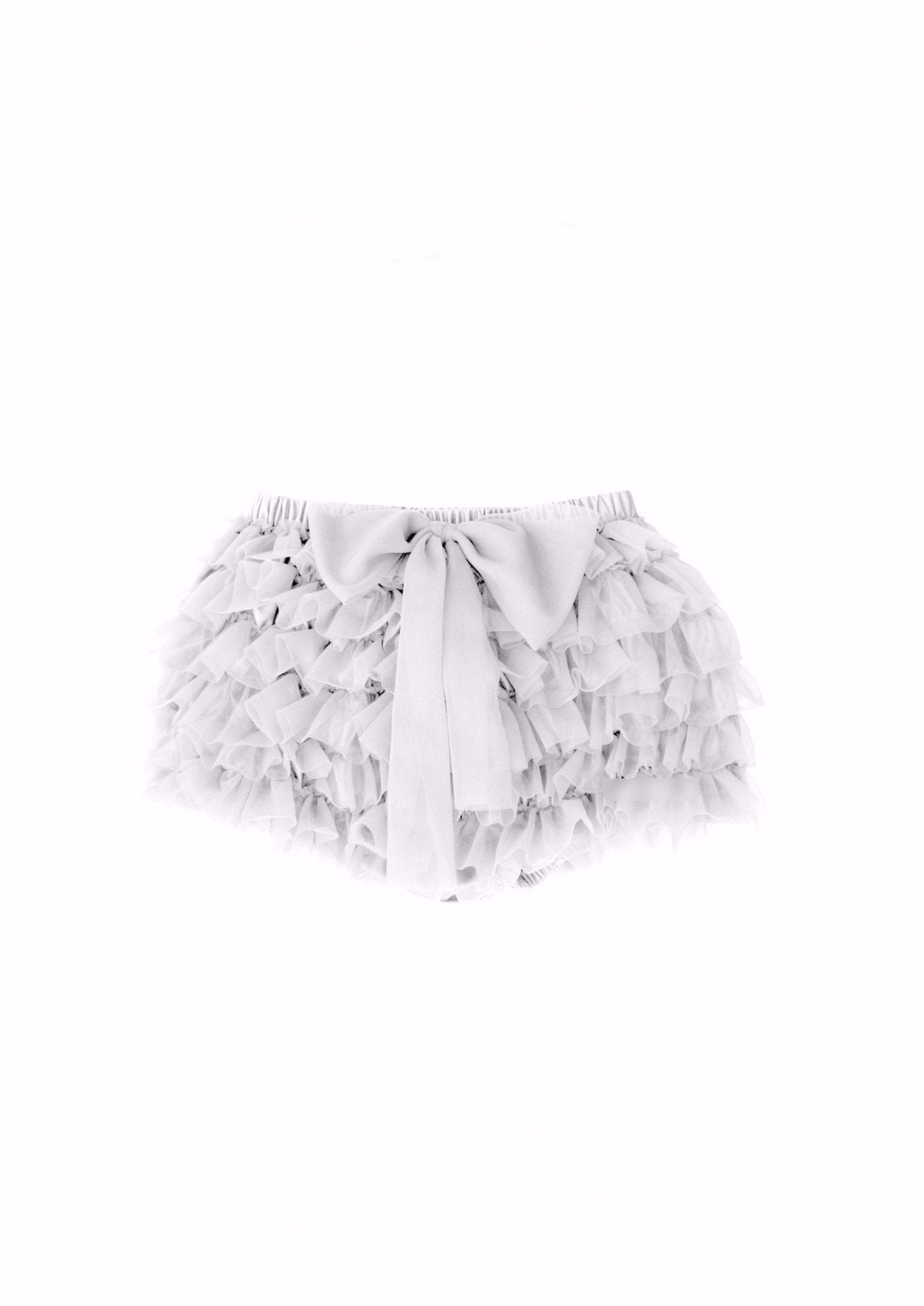 DOLLY by Le Petit Tom ® FRILLY PANTS off-white - DOLLY by Le Petit Tom ®