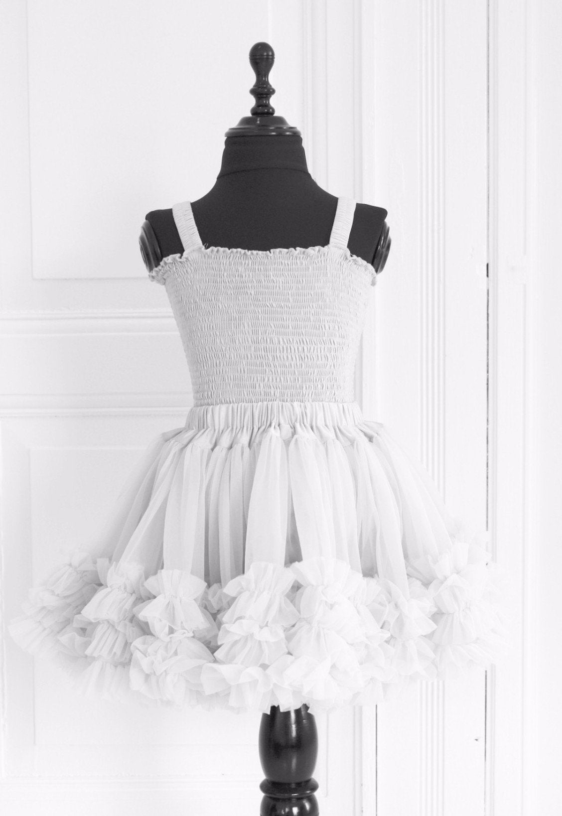 DOLLY by Le Petit Tom ® FRILLY SKIRT off-white - DOLLY by Le Petit Tom ®