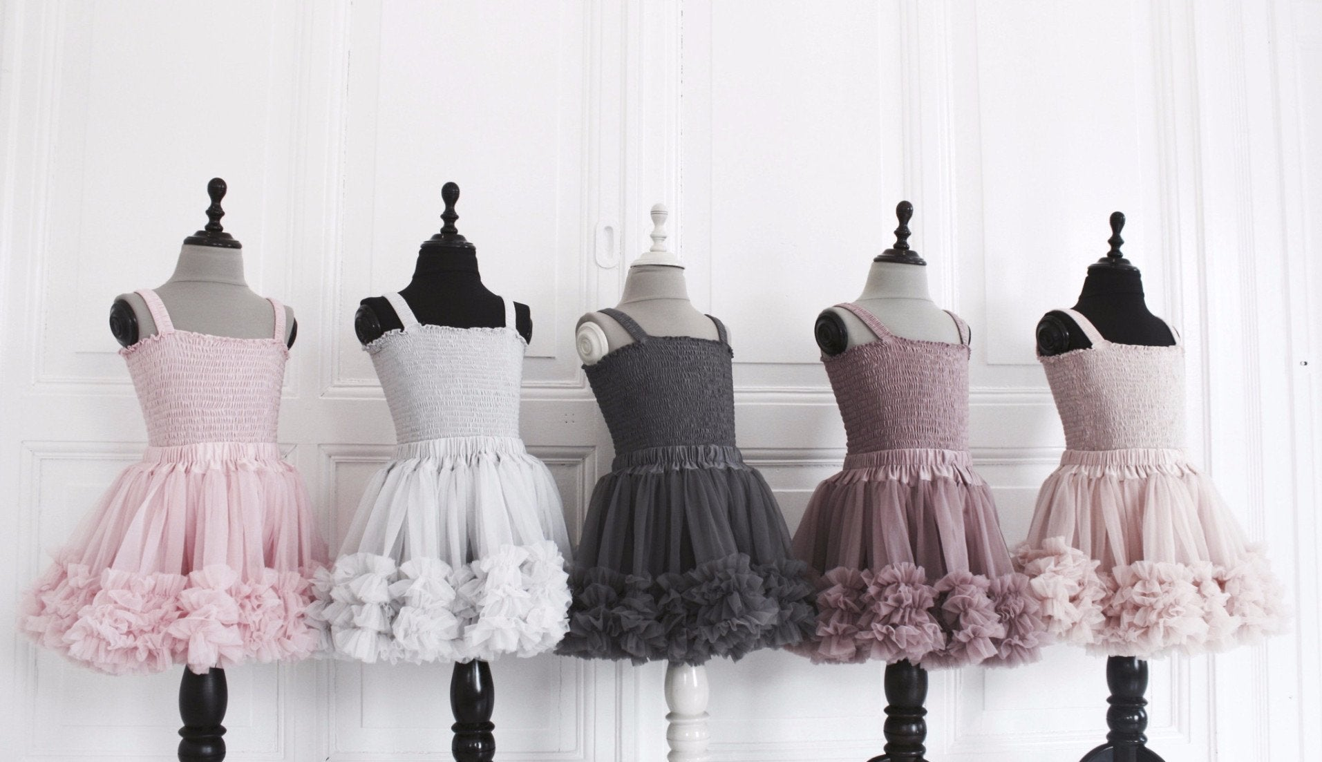 DOLLY by Le Petit Tom ® FRILLY SKIRT rose pink - DOLLY by Le Petit Tom ®