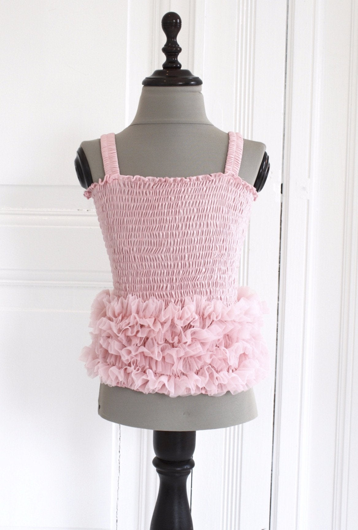 DOLLY by Le Petit Tom ® FRILLY SET SKIRT & TOP rose pink - DOLLY by Le Petit Tom ®