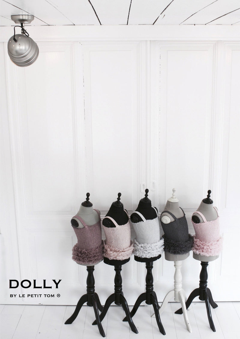 DOLLY by Le Petit Tom ® FRILLY TOP ballet pink - DOLLY by Le Petit Tom ®