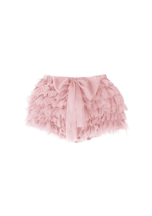 DOLLY by Le Petit Tom ® FRILLY PANTS Tutu Bloomer rose pink - DOLLY by Le Petit Tom ®