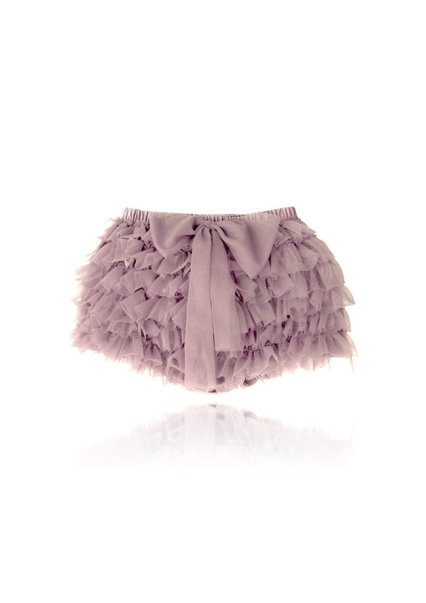DOLLY by Le Petit Tom ® FRILLY PANTS mauve - DOLLY by Le Petit Tom ®