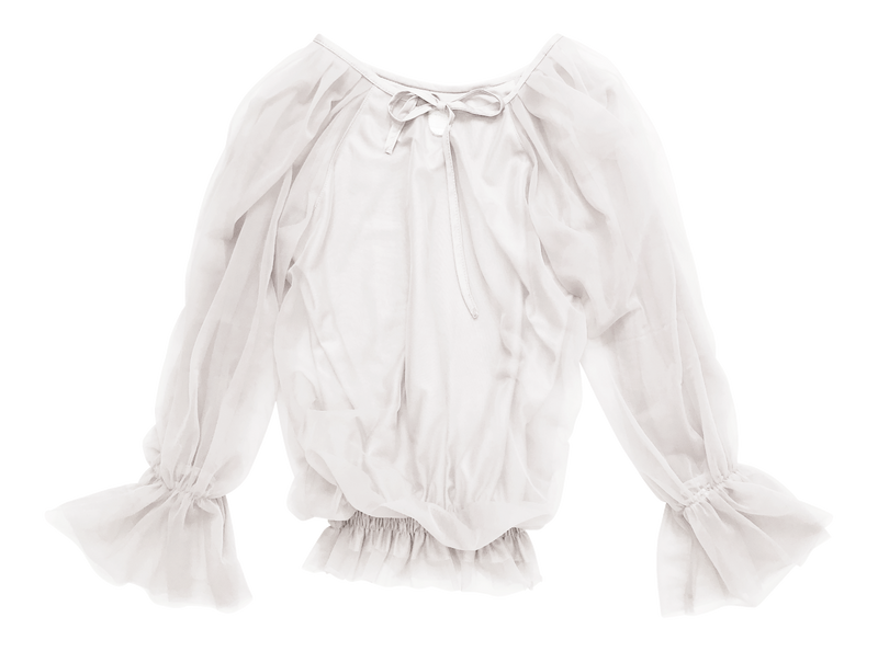 DOLLY by Le Petit Tom ® FAIRY TOP LONGSLEEVE off-white - DOLLY by Le Petit Tom ®