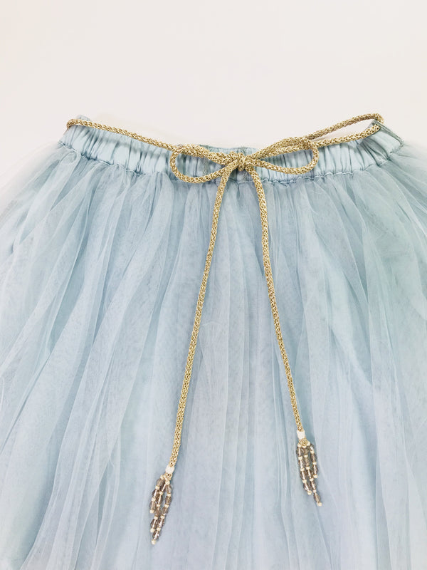 DOLLY by Le Petit Tom ® SIGNATURE LONG TUTU light blue - DOLLY by Le Petit Tom ®