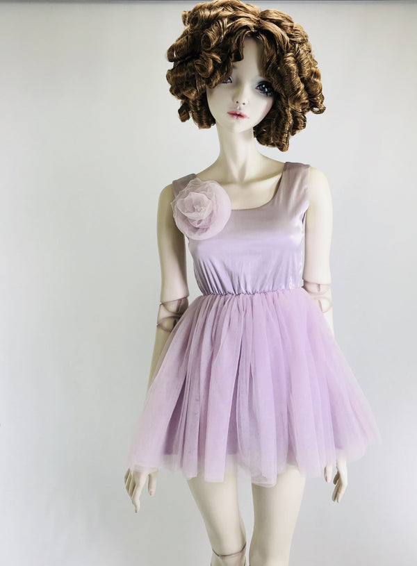 DOLLY by Le Petit Tom ® SIGNATURE BALLET DRESS violet