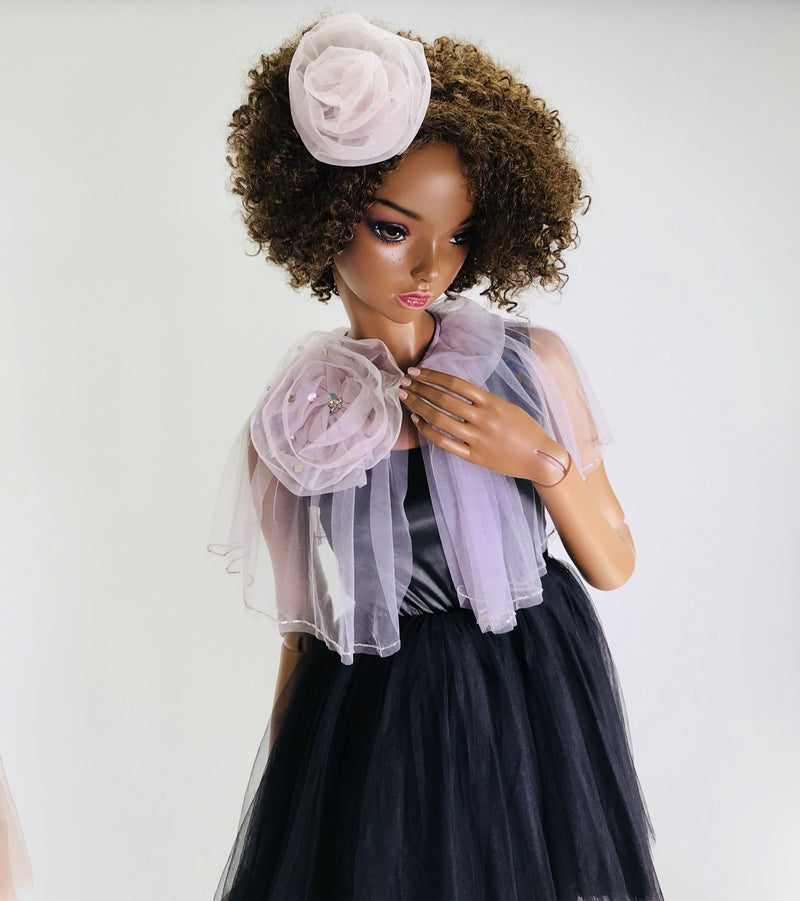 DOLLY by Le Petit Tom ® True Ballerina cape violet - DOLLY by Le Petit Tom ®