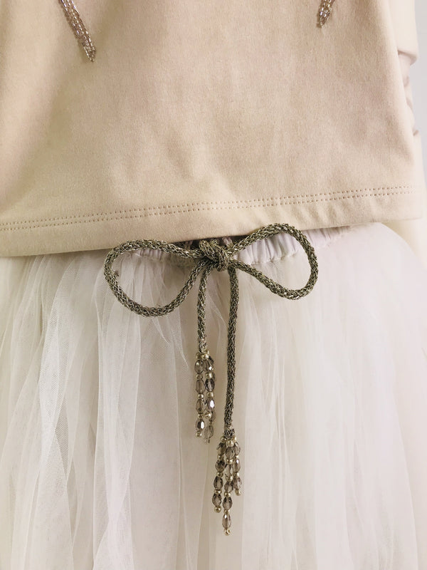 DOLLY by Le Petit Tom ® SIGNATURE SHORT TUTU white