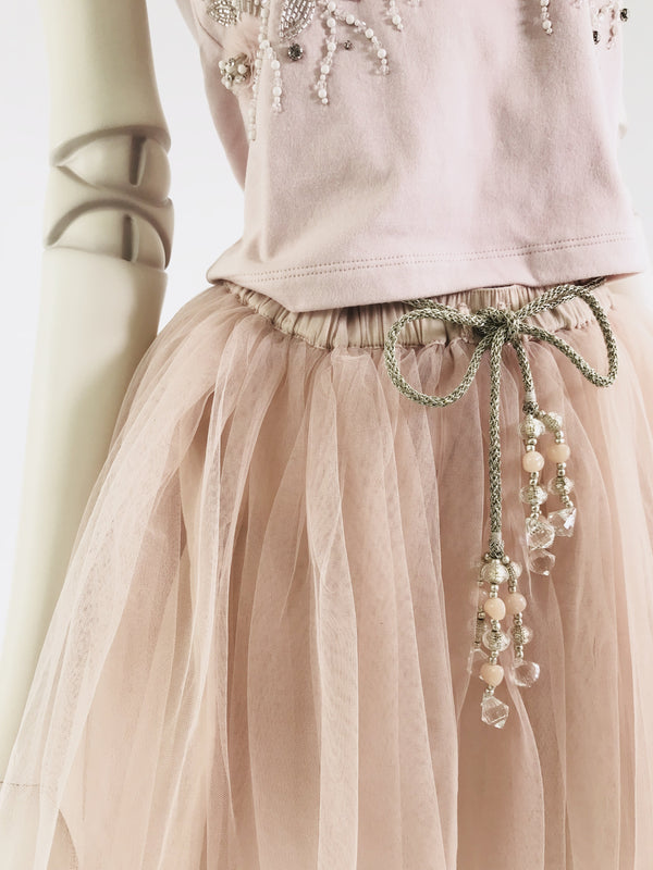 [ OUTLET!] DOLLY by Le Petit Tom ® SIGNATURE LONG TUTU ballet pink