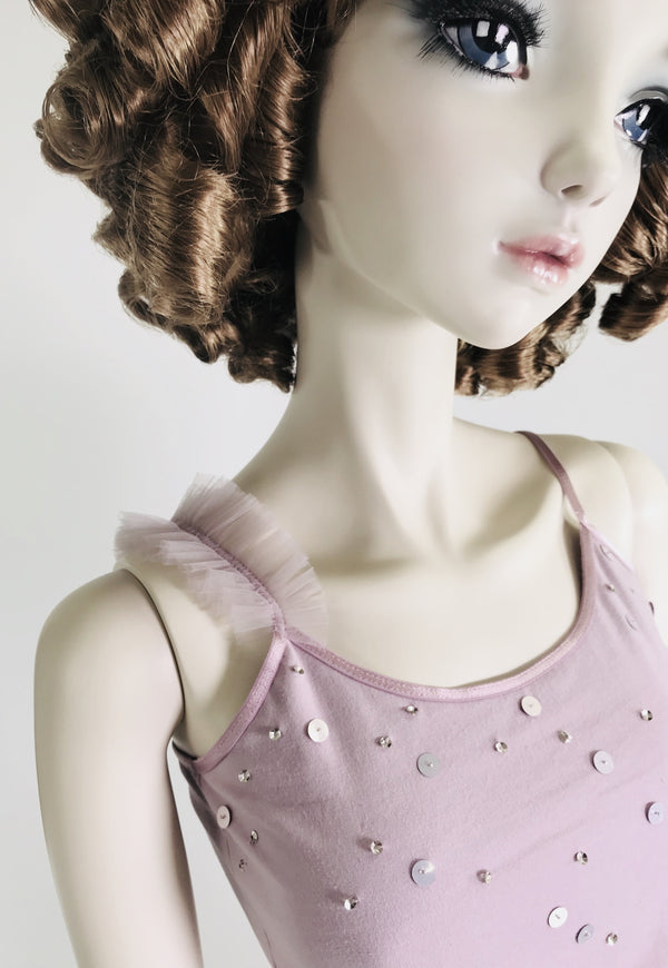 [ PRE ORDER *] DOLLY by Le Petit Tom ® True Ballerina top violet